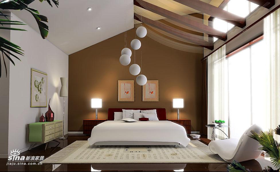 中式 四居 卧室图片来自用户2757926655在沉稳大气 完全中国风34的分享