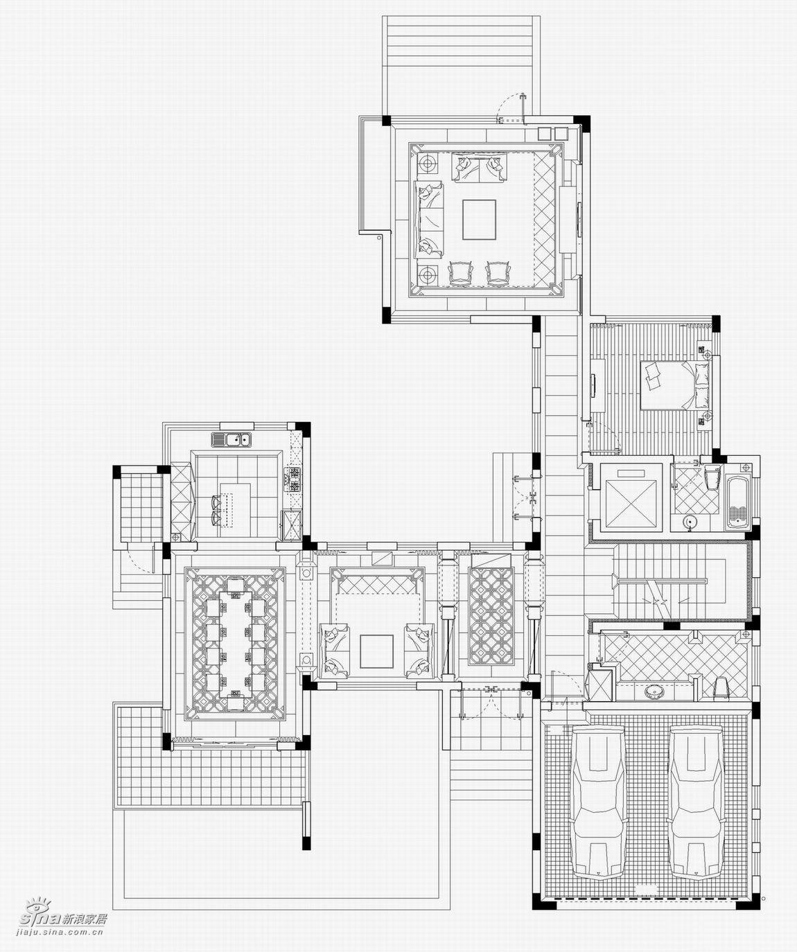 欧式 别墅 户型图图片来自用户2757317061在在温馨中尽显东方(二)67的分享