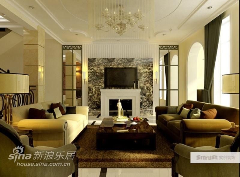 其他 别墅 客厅图片来自用户2558757937在翡翠城260平米新古典设计13的分享
