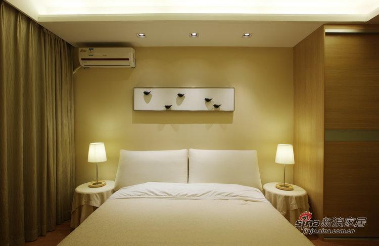 简约 三居 卧室图片来自用户2745807237在宜家色彩大气不张扬78的分享
