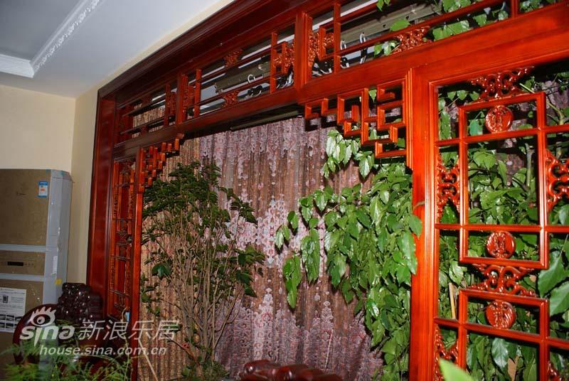 中式 四居 客厅图片来自wulijuan_16在160平中式实景照片(二)66的分享