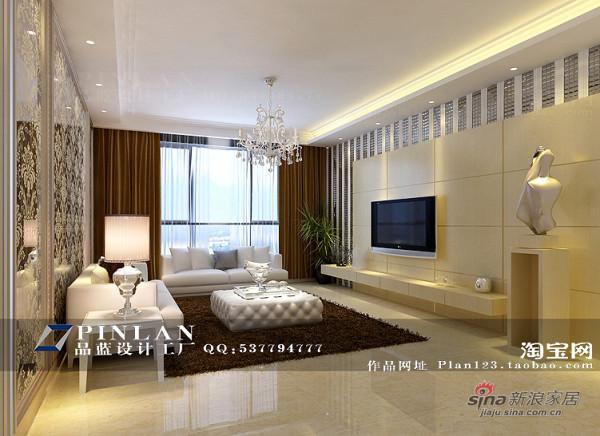 浪漫温馨现代风格客厅电视背景墙设计