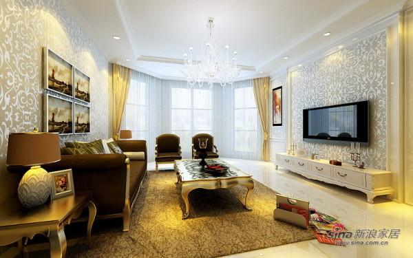 白色简欧客厅