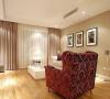 时尚白领5.8万装110平现代温馨两室