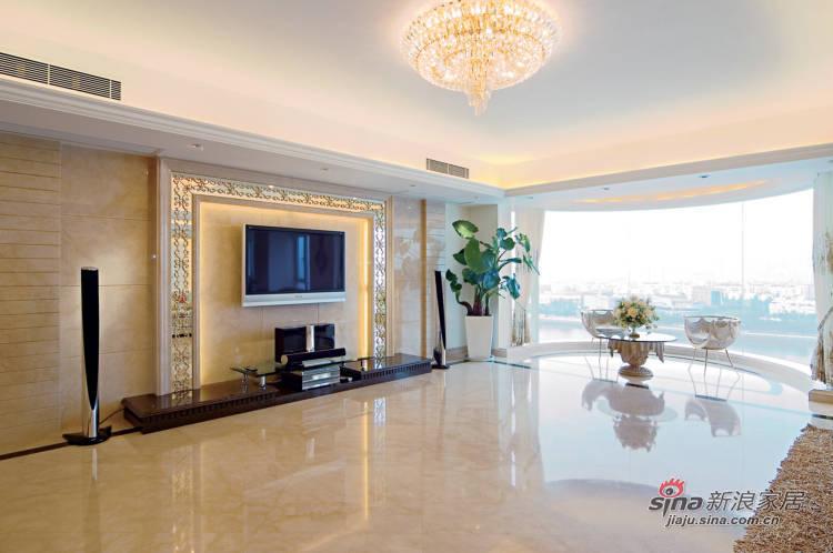 简约 三居 客厅图片来自用户2557979841在7.6万搞定160平现代简约居65的分享