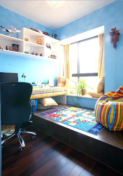 亮点:榻榻米与地板的完美结合~
