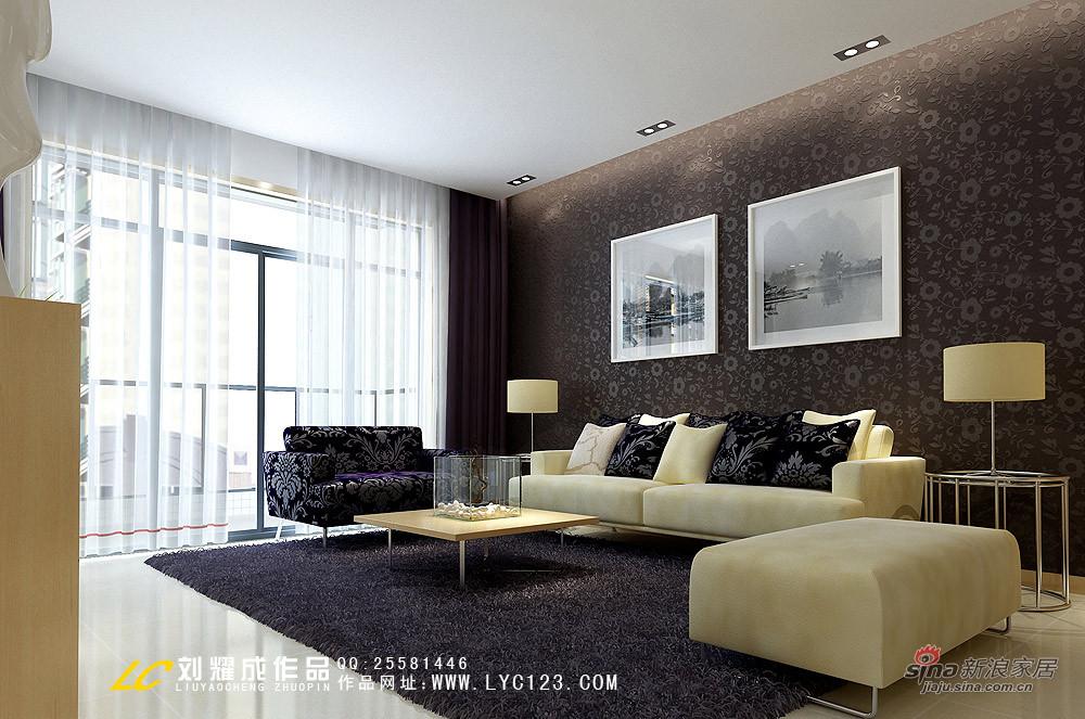 其他 三居 客厅图片来自用户2557963305在125平绽放现代都市温馨生活88的分享