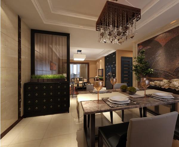 中式 三居 餐厅图片来自用户1907696363在【高清】135平大气古朴素雅新中式75的分享