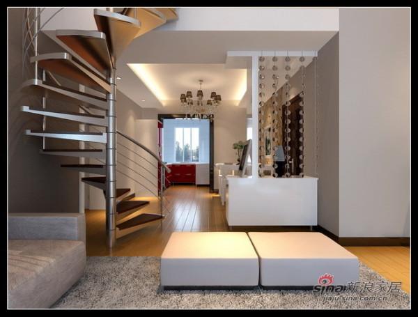 玄关--旋转楼梯