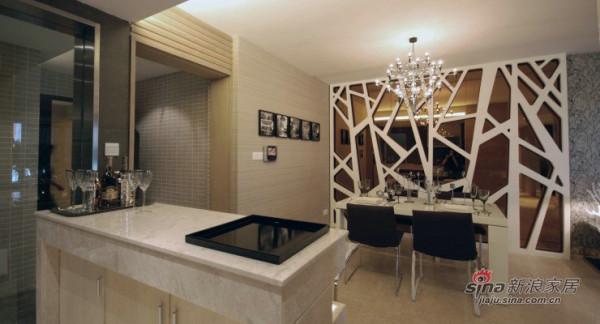 """""""老房装修""""130平米三居室后现代设计风"""