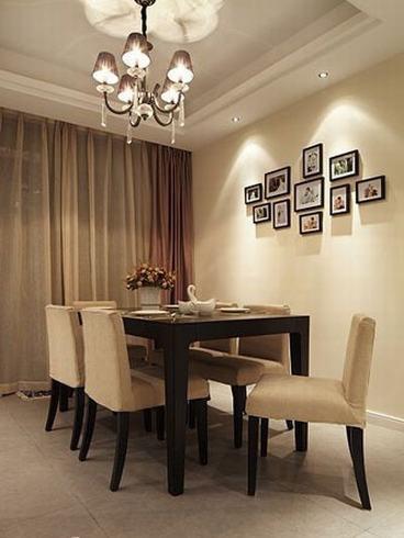 欧式 三居 餐厅图片来自用户2746953981在温馨软装+时尚硬装打造简约3居93的分享