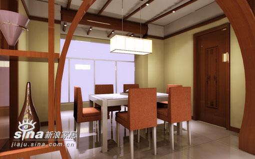 中式 四居 餐厅图片来自用户2748509701在太原·华宇中式57的分享
