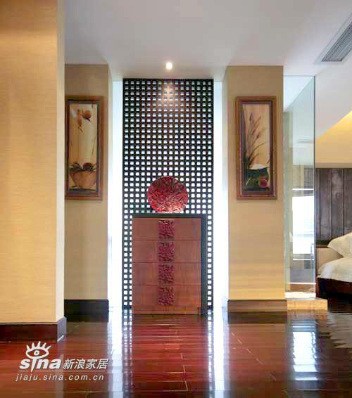 中式 别墅 玄关图片来自用户2757926655在中式简约60的分享