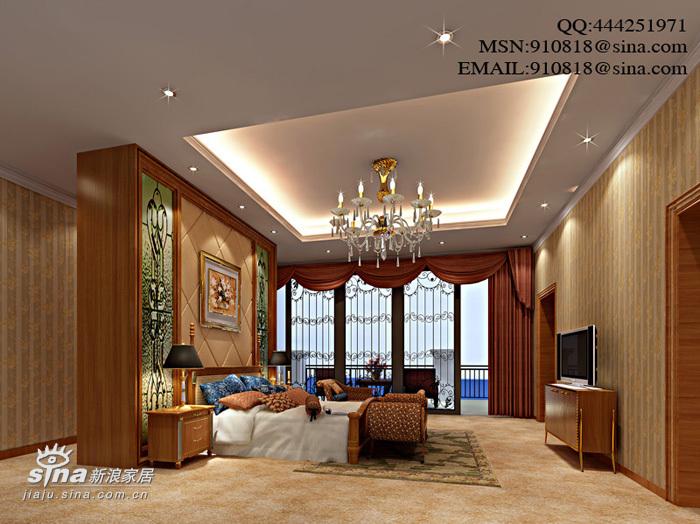 欧式 别墅 卧室图片来自用户2772873991在欧式别墅48的分享