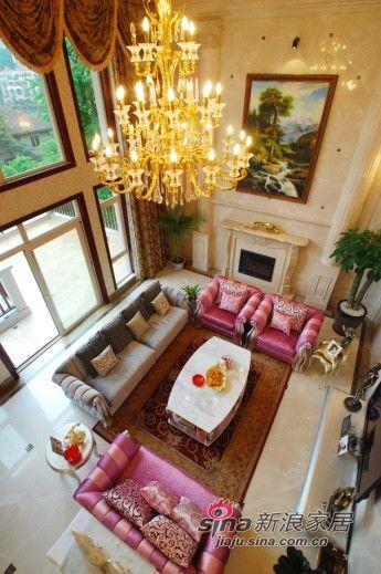 欧式 三居 客厅图片来自用户2746948411在简单生活新时尚范欧式3居66的分享