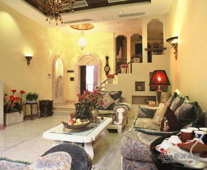 简约 别墅 客厅图片来自用户2739378857在320平古典美式新房58的分享
