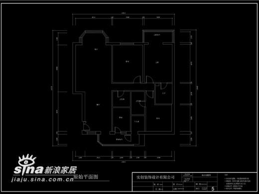简约 二居 户型图图片来自用户2745807237在望京新城简约设计58的分享