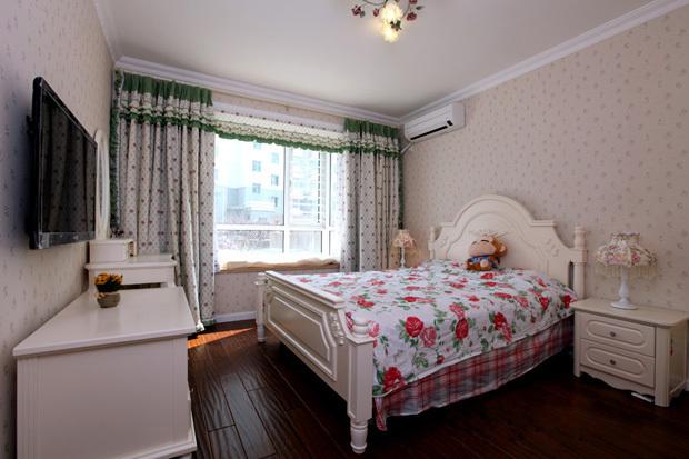 田园 二居 卧室图片来自用户2737946093在5.5万98平简约田园美居46的分享
