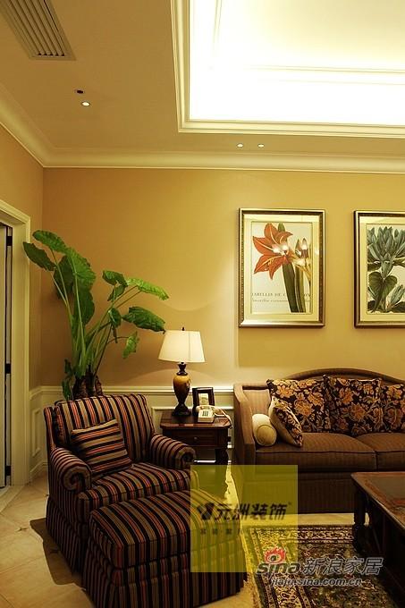 美式 别墅 客厅图片来自用户1907685403在【多图】23万打造280平北京玫瑰园37的分享