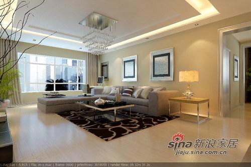 简约 二居 客厅图片来自用户2745807237在102平打造美家攻略只花5.5万18的分享