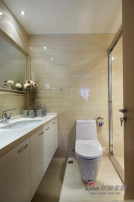 现代 二居 卫生间图片来自佰辰生活装饰在15万营造86平时尚简约婚房78的分享