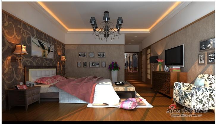 中式 三居 卧室图片来自用户1907661335在灵动27的分享