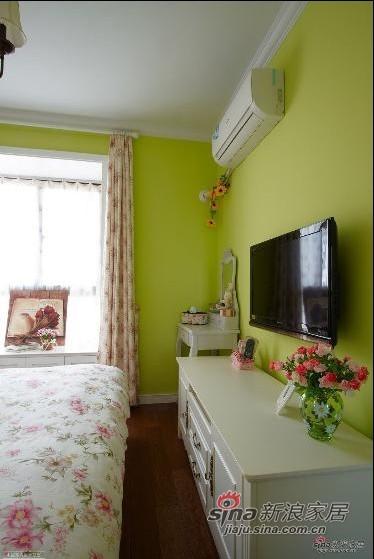 田园 二居 卧室图片来自用户2737946093在135平方田园自然宜人二居室59的分享