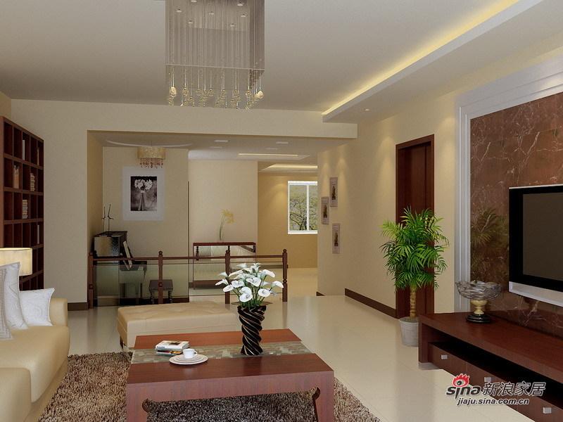 欧式 三居 客厅图片来自用户2757317061在8.2万铸造简约欧式135平爱家56的分享