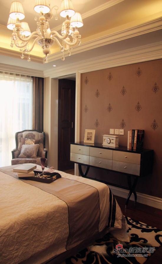 欧式 别墅 卧室图片来自用户2746953981在21万218平装欧式幸福家园56的分享