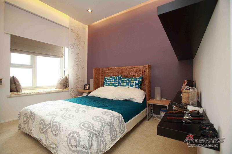 简约 二居 卧室图片来自用户2557979841在8万装88平小资范儿时尚家50的分享