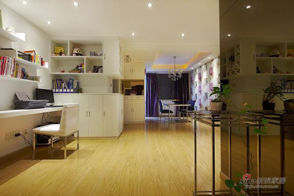 入门玄关,书房,客厅一面,柜子的设计和屏