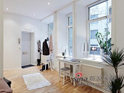 欧式 其他 卧室图片来自用户2746889121在50平清雅简约白色单身公寓46的分享