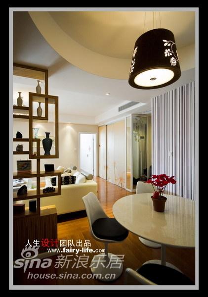 简约 二居 餐厅图片来自用户2737759857在两房改三房,壁纸的现代感87的分享