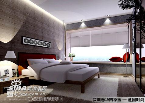 其他 别墅 卧室图片来自用户2558757937在深圳春华四季园示范单位11的分享