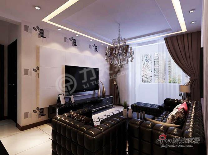 简约 一居 客厅图片来自阳光力天装饰在旷世新城的分享