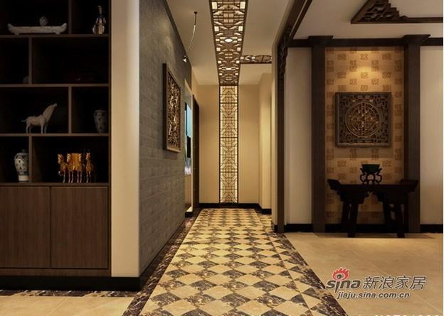 中式 二居 客厅图片来自用户1907662981在超靓88平米的中式写真2居98的分享