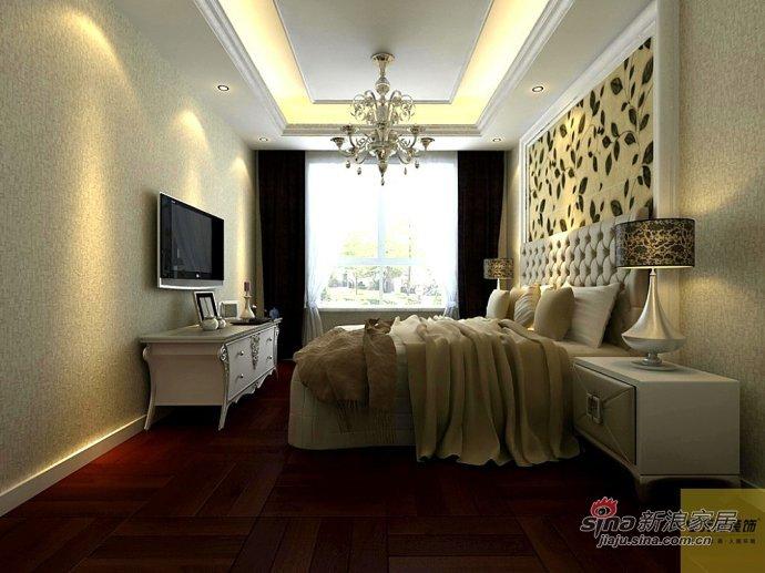 欧式 二居 卧室图片来自用户2746889121在简欧风格22的分享