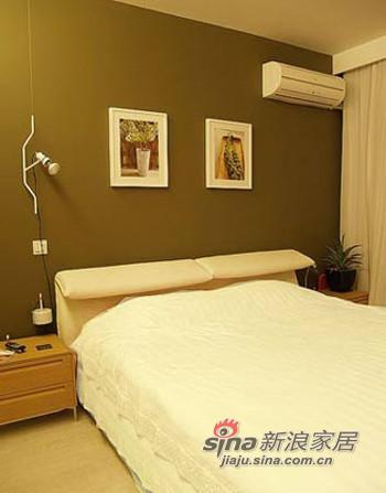卧室,舒适床品,床头的设计很别致