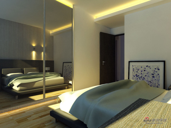 小户型方案1卧室