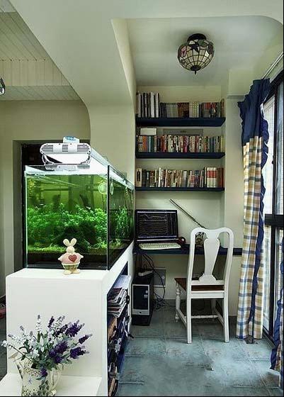 小户型巧妙隔出一个书房