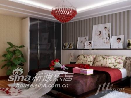 简约 三居 卧室图片来自用户2739081033在遇见幸福二之幸福涟漪86的分享