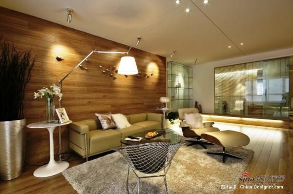 108平公寓 空间的流畅之美