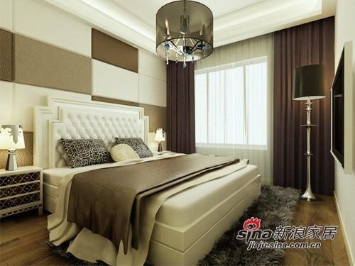 简约 三居 卧室图片来自用户2737786973在8万铸造现代时尚139平loft40的分享