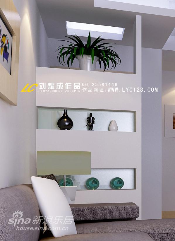 简约 三居 客厅图片来自用户2738820801在造价极低但效果不错的客厅设计57的分享