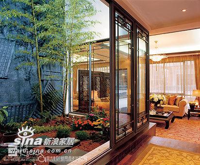 中式 别墅 玄关图片来自wulijuan_16在浙江水木清华别墅示范单位18的分享