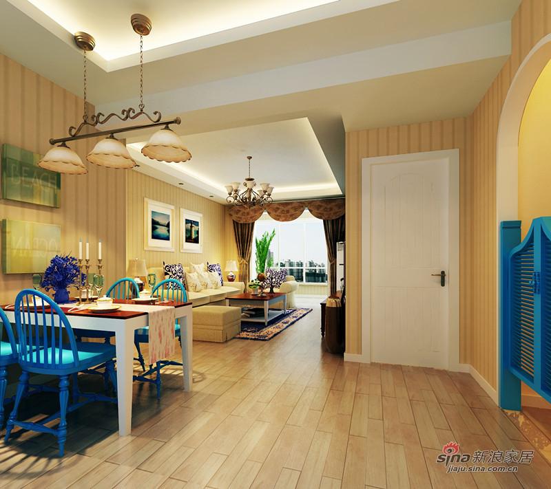简约 一居 餐厅图片来自用户2739378857在异域风情的浪漫两居室99的分享