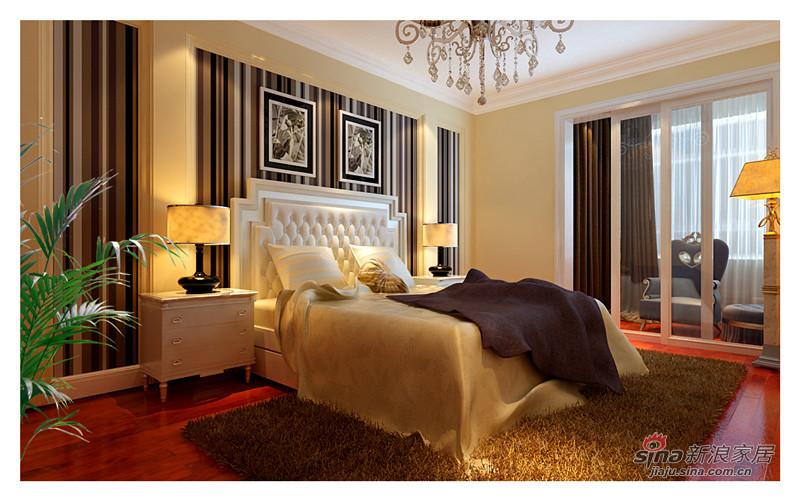 欧式 三居 卧室图片来自用户2746948411在9万呈现欧式135平大气靓居84的分享