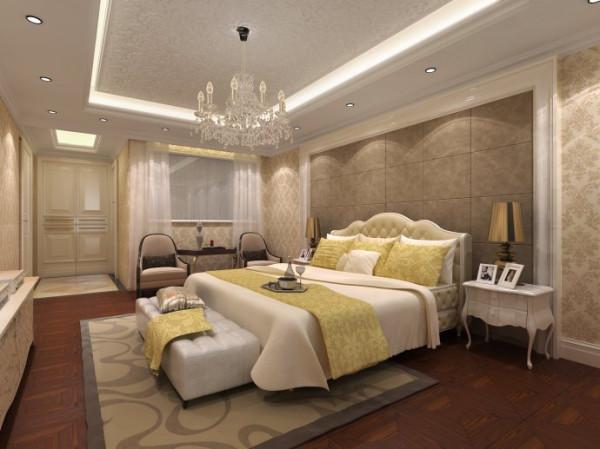 卧室的设计十分古典