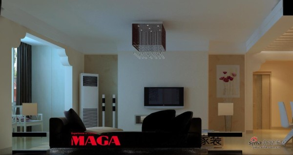 简约 二居 客厅图片来自用户2738845145在时尚简约风80的分享