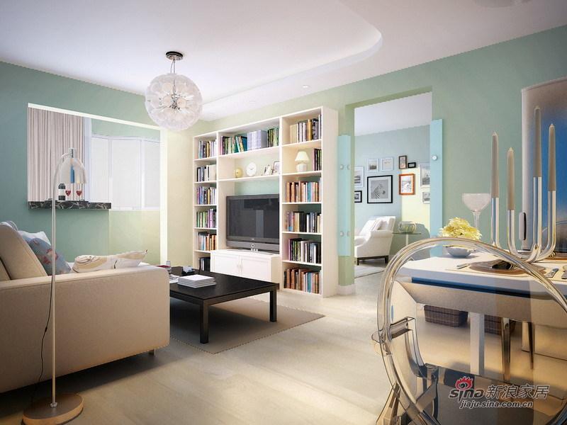 田园 二居 客厅图片来自用户2737946093在甜蜜浪漫5万实现85平英式田园小资梦想58的分享